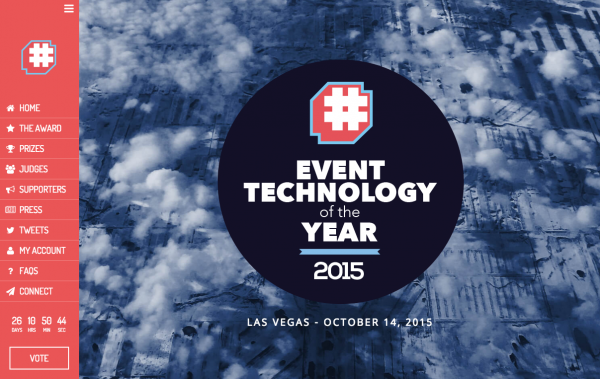 EVENT TECHNOLOGY of the YEAR 2015 開催!