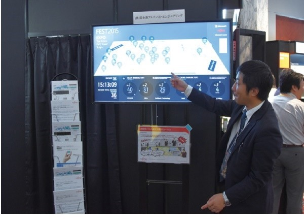 イベント来場者の満足度測定ツール開発 ~ 富士通アドバンストエンジニアリング