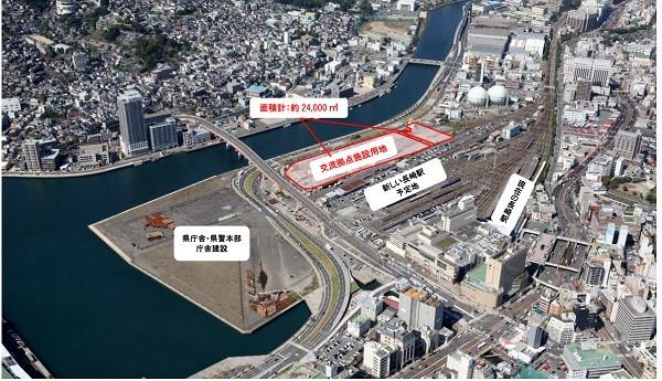 "MICE施設は""未来の出島""  駅直結と都市の魅力で中規模会議誘致へ"
