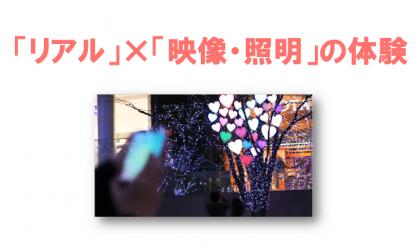 IoT×イルミネーションでみえてきたインタラクティブ演出の未来  -バニーポップ-