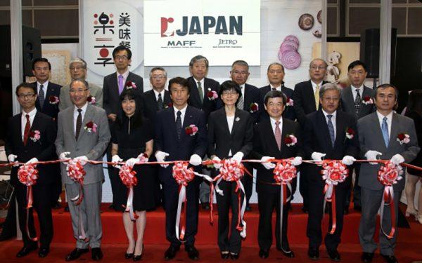日本貿易振興機構(ジェトロ)主催 香港フード・エキスポ2017ジャパン・パビリオン開幕日本の香港向け農林水産物・食品輸出額は過去最高