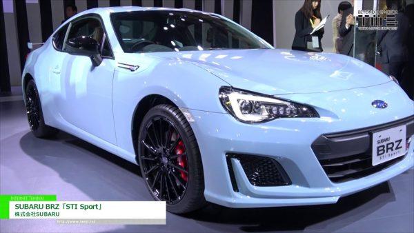 [第45 回 東京モーターショー 2017] SUBARU BRZ「STI Sport」 – 株式会社SUBARU