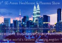 マレーシアにて第21回SE-アジア ヘルスケア&ファーマショーが開催