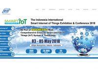 国際展示会 「インドネシア国際スマートIoT展示会と会議:2018年」の出展申込み受付開始