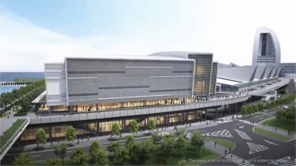 横浜の新MICE施設 通称 は「パシフィコ横浜ノース」に