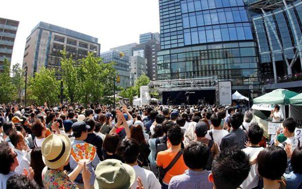 親子で楽しむ野外無料ジャズ・イベント 『JAZZ AUDITORIA 2019 in WATERRAS』 神田で平成最後の開催