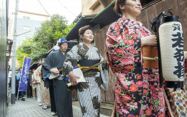 まち全体を舞台に日本の様々な伝統芸能を楽しむフェスティバル「神楽坂まち舞台・大江戸めぐり2019」開催