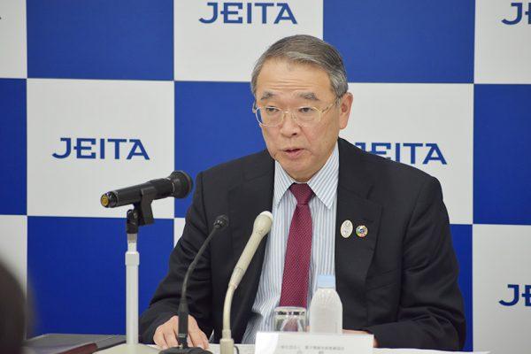 JEITA新会長に遠藤信博氏 <br>CEATECは学生向け取組み強化