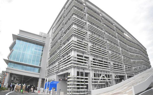 東京ビッグサイト南展示ホールが初披露