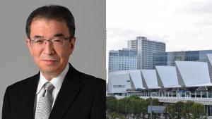 パシフィコ横浜と渡辺渡辺巧教代表取締役社長