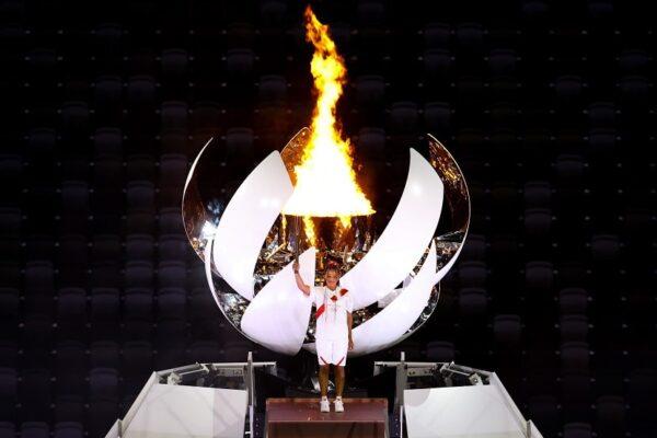 東京2020 が開幕 復興五輪コンセプト聖火台で体現